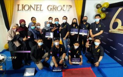 Puncak Acara Ulang Tahun Lionel Group ke-6